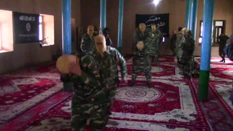 Isis-Troops-Undergo-Training-In-A-Darzab-Mosque-In-Afghanistan-In-This-Propaganda-Video-Captured-During-A-Raid-By-Us-Soldiers-1