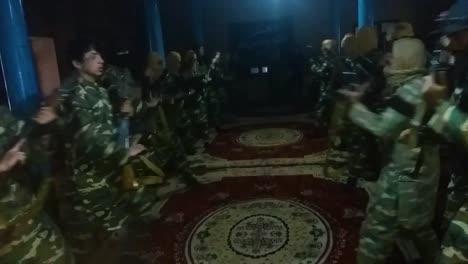 Isis-Troops-Undergo-Weapons-Training-In-A-Darzab-Mosque-In-Afghanistan-In-This-Propaganda-Video-Captured-During-A-Raid-By-Us-Soldiers