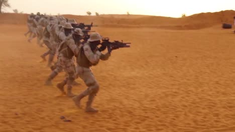 Us-Forces-Train-Police-And-Army-Troops-From-West-Africa-Niger-Burkina-Faso-And-Senegal-In-Desert-Warfare-Weapons-And-Commando-Tactics-1