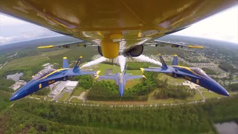 The-Us-Navy-Blue-Angels-Fly-In-Tight-Squadron-Formation-In-An-Air-Show-In-This-Amazing-Pov-Shot