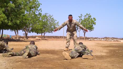 Members-Of-The-Djibouti-Armed-Forces-(Fad)-Perform-A-Commando-Raid-In-The-Desert-And-Rescue-Wounded-2