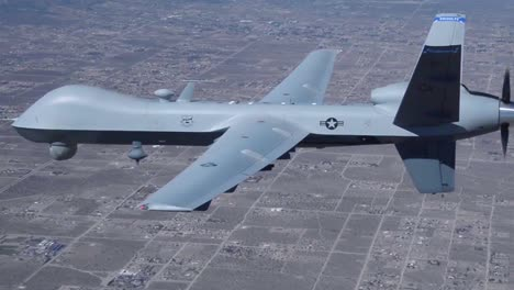 Aerial-Footage-Of-An-Mq9-Reaper-Military-Drone-During-In-Flight-Operations
