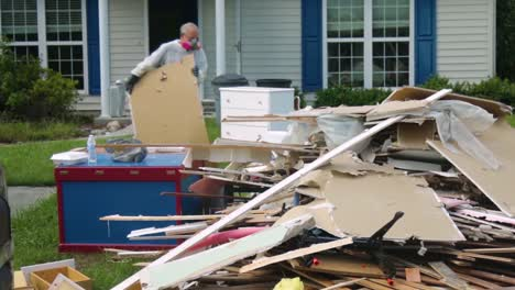 Footage-Of-Debris-In-Wilmington-North-Carolina-And-Surrounding-Areas-After-Hurricane-Florence-4