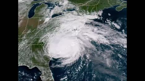 An-Animated-Noaa-Weather-Map-Shows-The-Path-Of-Hurricane-Florence