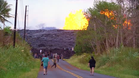 The-Hawaii-National-Guard-Public-Affairs-Media-Team-Escorts-Media-Into-Leilani-Estates-During-The-Kilauea-Volcanic-Eruption-To-Witness-The-Active-Fissures-And-Lava-Flows-In-Two-Areas-In-The-Neighborhood-1
