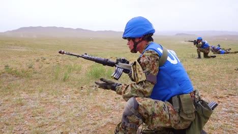 Soldados-De-La-Fuerza-De-Autodefensa-Terrestre-De-La-Onu-Japón-Entrenan-En-Las-Naciones-Unidas-Patrullando-En-Mongolia-China-1