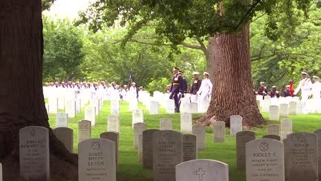 Members-From-All-Five-Branches-Of-The-Us-Armed-Forces-Participate-In-The-Joint-Full-Military-Honors-Funeral-Service-Of-Former-Us-Secretary-Of-Defense-Frank-C-Carlucci