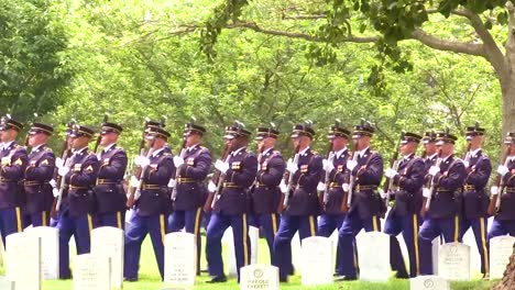 Members-From-All-Five-Branches-Of-The-Us-Armed-Forces-Participate-In-The-Joint-Full-Military-Honors-Funeral-Service-Of-Former-Us-Secretary-Of-Defense-Frank-C-Carlucci-1