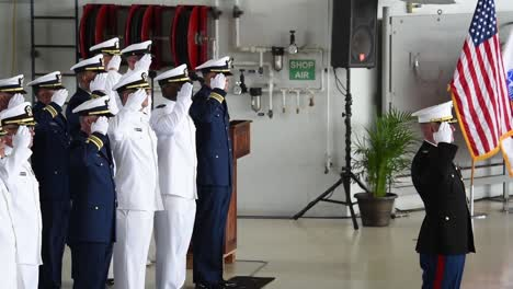 Flag-Draped-Coffins-Of-Dead-Us-Soldiers-Being-Returned-Home-Are-Displayed-In-A-Military-Hangar-1