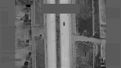 Overhead-Drone-Uav-Us-Military-Surveillance-Imagery-Of-An-Arab-City-In-The-Middle-East-Ghazni-City-Afghanistan