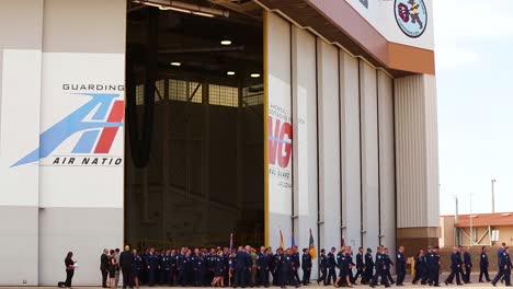 Senator-John-Mccain\-S-Remains-Were-Transferred-From-His-Funeral-Services-In-Central-Phoenix-To-A-Flight-At-The-Barry-Goldwater-Arizona-Air-National-Guard-Base