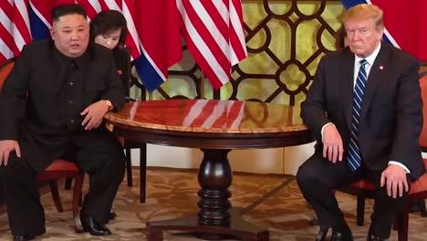 Us-President-Donald-Trump-Meets-With-North-Korean-President-Kim-Jong-Un-At-A-Summit-In-Vietnam-1