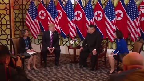 Us-President-Donald-Trump-Meets-With-North-Korean-President-Kim-Jong-Un-At-A-Summit-In-Vietnam-4