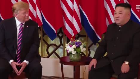 US-Präsident-Donald-Trump-Trifft-Sich-Mit-Dem-Nordkoreanischen-Präsidenten-Kim-Jong-Un-Bei-Einem-Gipfeltreffen-In-Vietnam-5