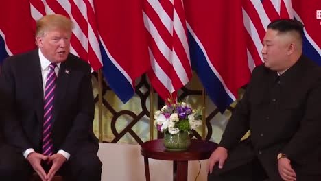 Us-President-Donald-Trump-Meets-With-North-Korean-President-Kim-Jong-Un-At-A-Summit-In-Vietnam-6