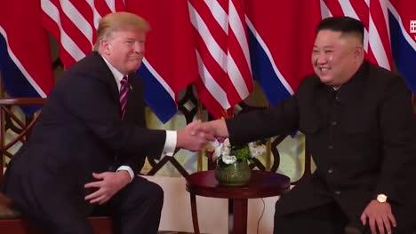 Us-President-Donald-Trump-Meets-With-North-Korean-President-Kim-Jong-Un-At-A-Summit-In-Vietnam-8