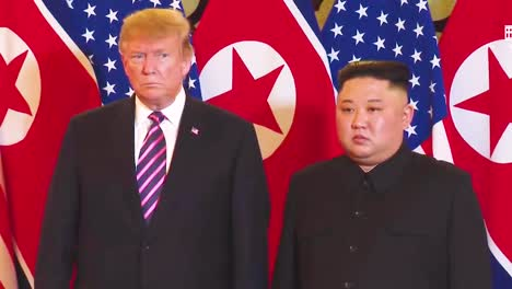 Us-President-Donald-Trump-Meets-With-North-Korean-President-Kim-Jong-Un-At-A-Summit-In-Vietnam-10