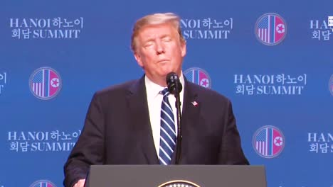 Us-President-Donald-Trump-Holds-A-Press-Conference-Following-His-Summit-In-Vietnam-With-Kim-Jong-Un-And-Answers-Questions-About-The-Abrupt-End-To-Negotiations