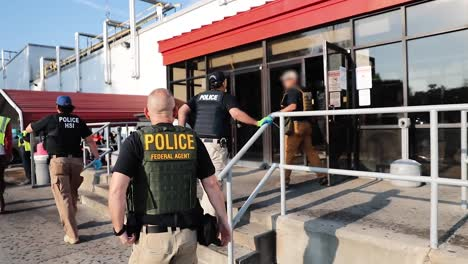 Ice-Officers-Conduct-A-Worksite-Enforcement-Operation-In-Canton-Mississippi-Arresting-Several-Men