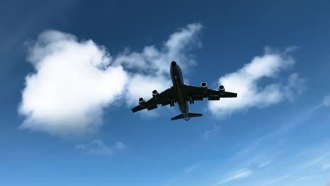 A-Kc125R-Stratotanker-Flies-Overhead-At-Eielson-Air-Force-Base