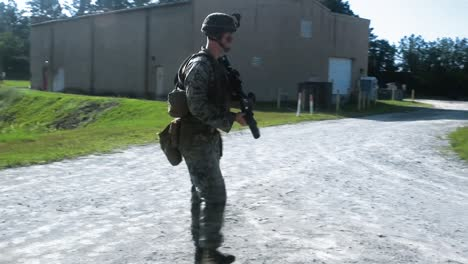 A-Montage-Shows-Us-Marines-Conducting-Military-Operations-On-Urban-Terrain-Training-At-Camp-Lejeune