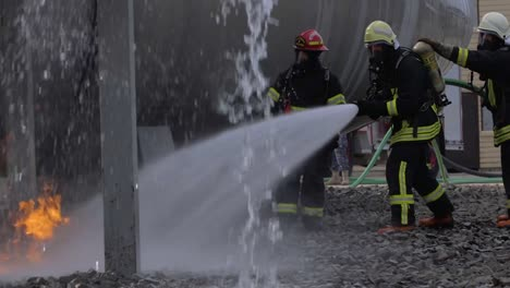 Usaf-Firefighters-Of-The-435Th-Construction-And-Training-Squadron-Lead-A-Training-Exercise-On-Ramstein-Air-Base-1