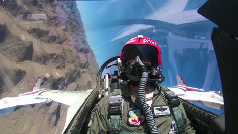 The-United-States-Air-Force-Thunderbirds-Demonstration-Squadron-Prepares-For-An-Airshow-1