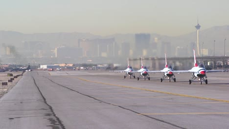 The-United-States-Air-Force-Thunderbirds-Demonstration-Squadron-Prepares-For-An-Airshow-2