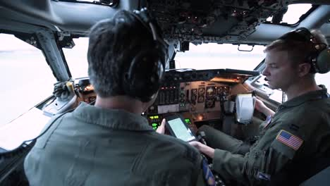 Us-Airmen-Aboard-Their-Aircraft-Prepare-For-Takeoff