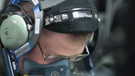 A-Usaf-Plane-Is-Fueled-While-In-Flight