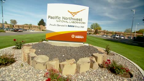 Employees-Of-The-Pacific-Northwest-National-Laboratory-Are-Seen-Walking-And-Jogging-Around-Campus