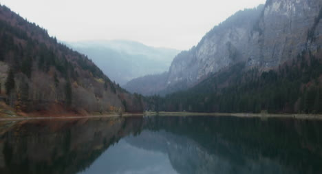 Mountain-Lake-Crane-Shot