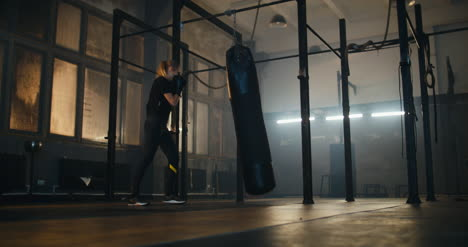 Woman-Punching-Bag-in-Slow-Motion