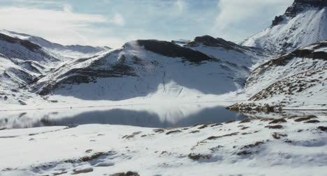 Snowy-Alpine-Lake