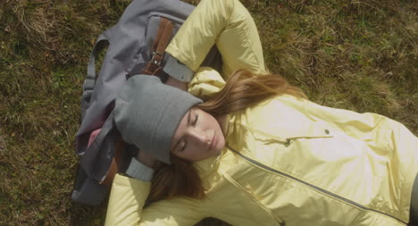 Hiker-Resting-on-Bag-Aerial-01