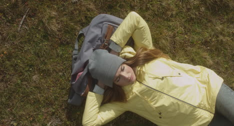 Hiker-Resting-on-Bag-Aerial-02