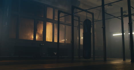 Punching-Bag-Swinging-in-Gym-01
