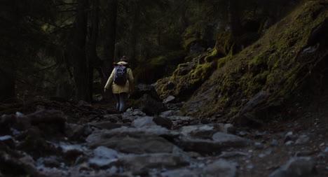 Bergweg-Wandern