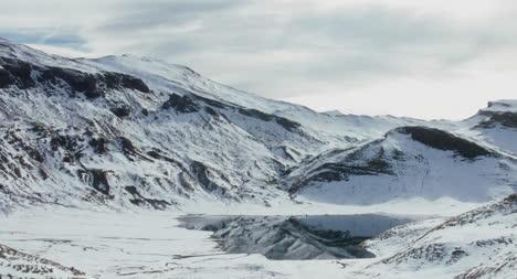 Snowy-Montaña-Landscape