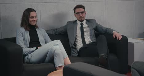 Geschäftsleute-Reden