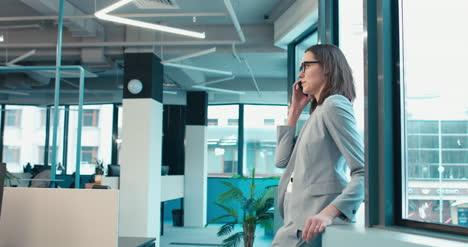Businesswoman-on-Cellphone