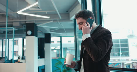 Professional-Man-Call-With-Coffee