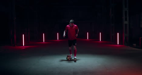 Soccer-Player-Dribbling-Ball