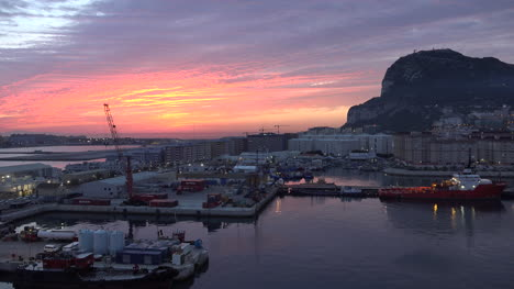Gibraltar-Rock-Before-Sunrise