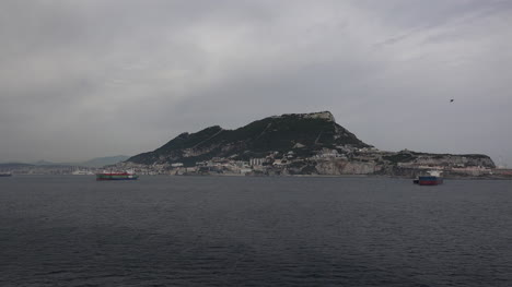 Gibraltar-Rock-From-Mediterranean-Sea