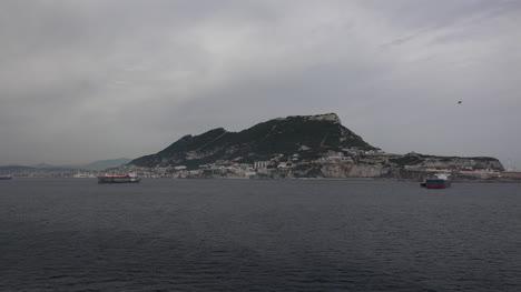 Roca-De-Gibraltar-Del-Mar-Mediterráneo
