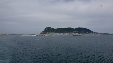 Gibraltar-Distant-View-Of-The-Rock