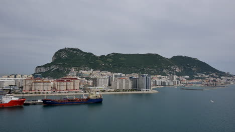Gibraltar-View-Of-The-City-And-Rock