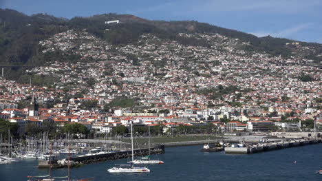 Madeira-Funchal-Houses-Up-Mountain