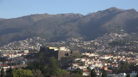 Madeira-Funchal-With-Strong-Fortress